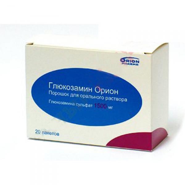 Глюкозамин орион порошок для приготовления р-ра д/перор.