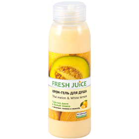 ГЕЛЬ ДЛЯ ДУША «FRESH JUICE» крем-гель 300 мл, thai melon & white lemon